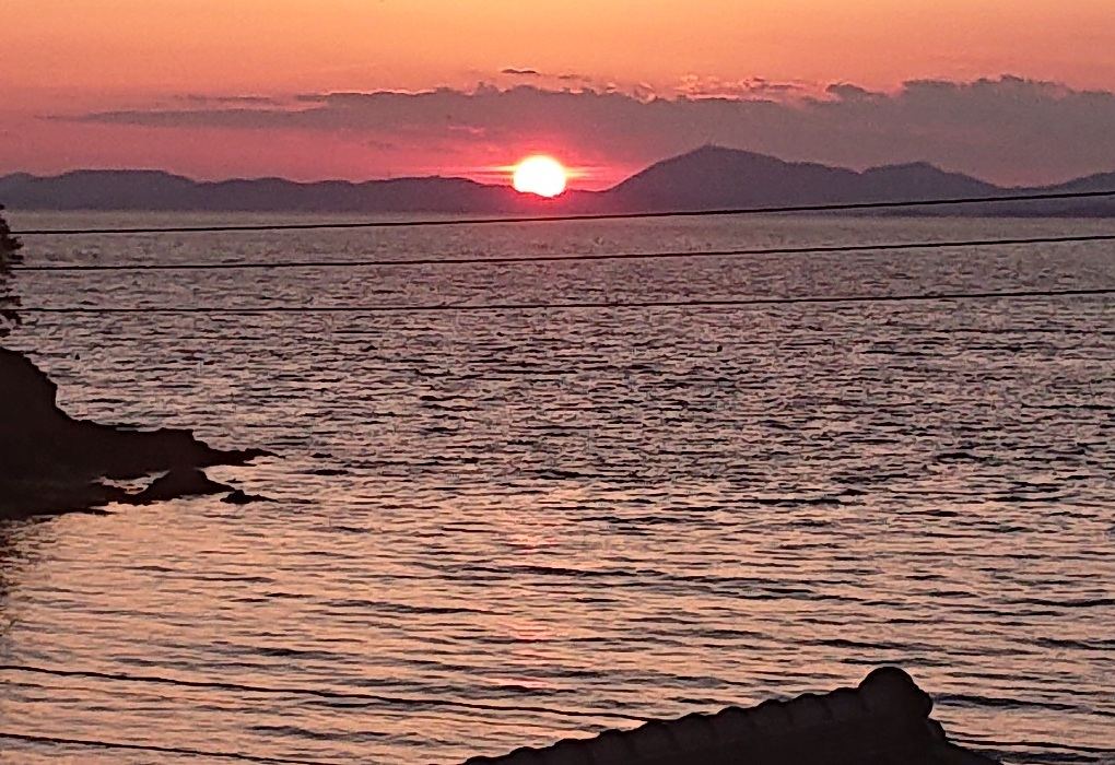 小豆島の北部(七尾)