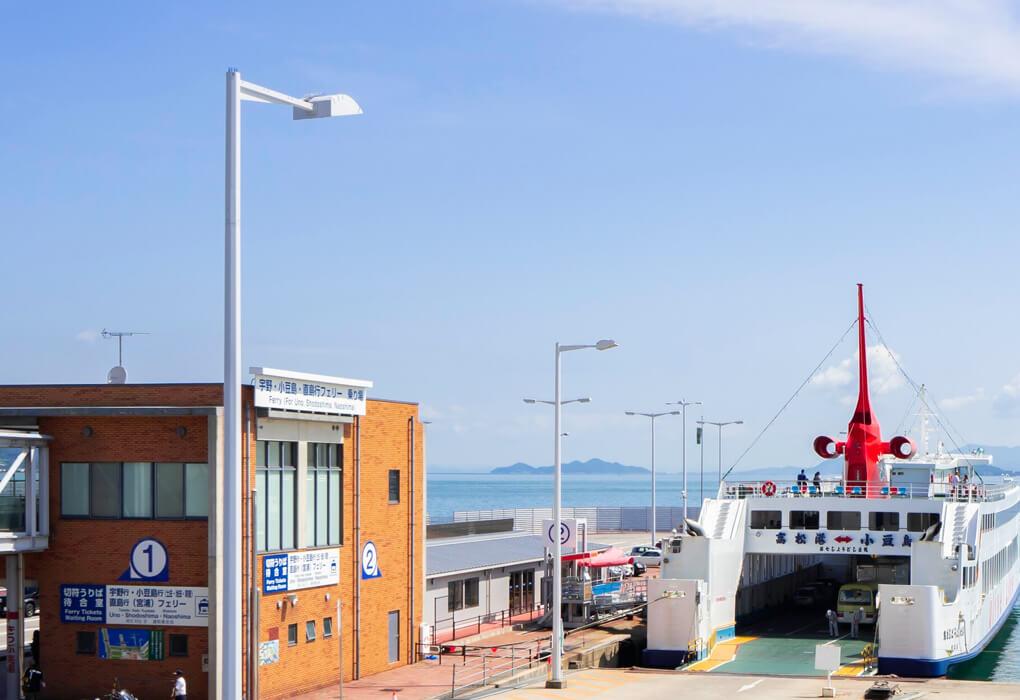 小豆島内の港